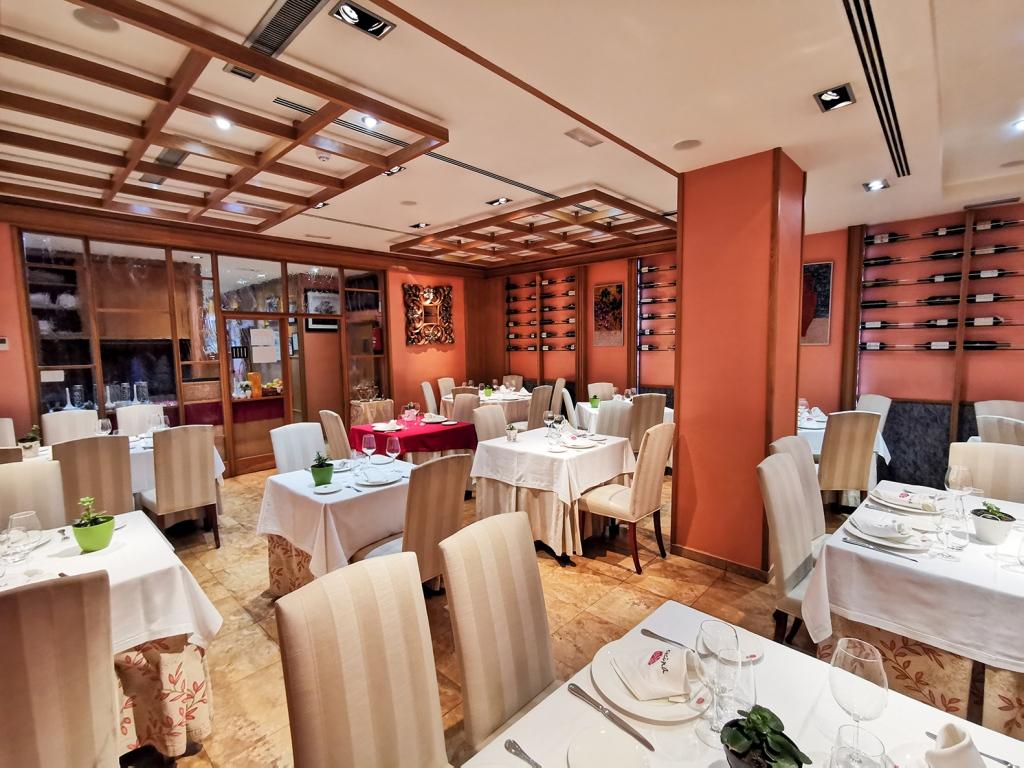 Foto del comedor del restaurante La Encina